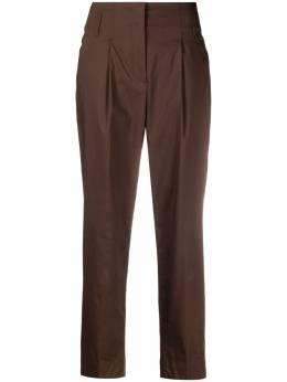 Luisa Cerano брюки с завышенной талией и складками 6382951413