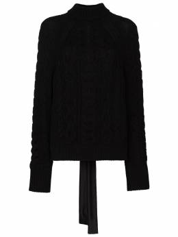 Cecilie Bahnsen open-back chunky-knit jumper SS21010089FREDERICAJUMPER