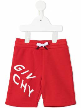 Givenchy Kids шорты с логотипом H04098