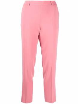 Alberto Biani укороченные брюки кроя слим со стрелками CC844AC0028