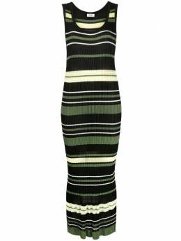 Liu Jo knitted stripe maxi dress MA1063MA236