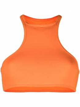 The Attico halterneck bikini top 215WBB22PA15