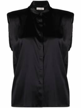Laneus sleeveless silk shirt 6947