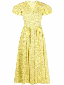 Vivetta платье с V-образным вырезом и цветочным принтом H2320101