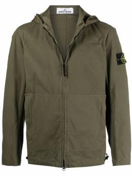 Stone Island куртка с нашивкой-логотипом 741541521