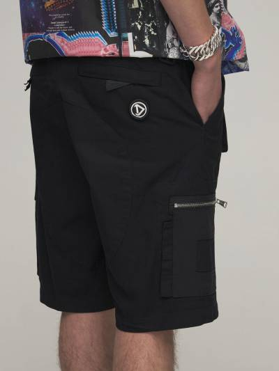 Cotton & Nylon Cargo Shorts Diesel 73IBQT023-OVhY0 - 3