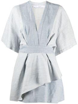 Iro многослойное платье мини с V-образным вырезом A0493WM33MERAL