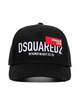 Dsquared2 бейсболка с вышитым логотипом BCM045505C00001