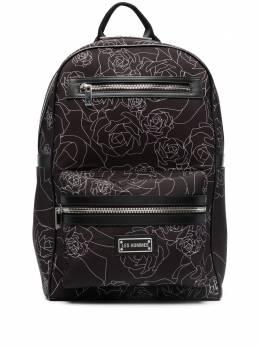 Les Hommes рюкзак с цветочным принтом LKA152283P