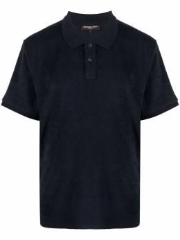 Michael Kors махровая рубашка поло с короткими рукавами CS1504V1V1