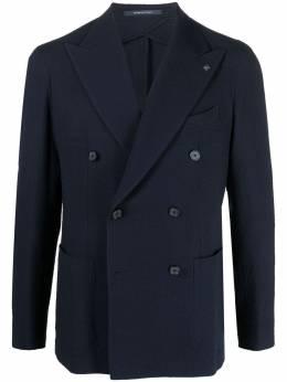 Tagliatore двубортный пиджак строгого кроя 1SMC20K23UEZ076