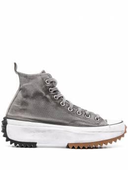 Converse высокие кеды Run Star Hike 168298CCANVASSMOKE