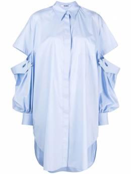 Vivetta рубашка с аппликацией и вырезами G0710650