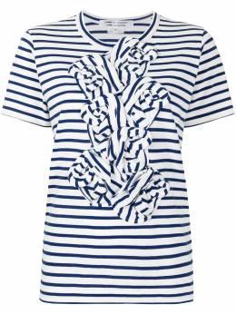 Comme Des Garcons Comme Des Garcons футболка в полоску с оборками RGT0202