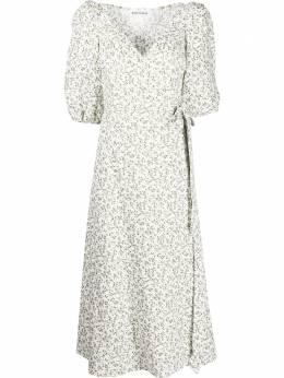Reformation платье миди Mint с цветочным принтом 1308275IVY