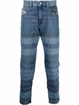 Diesel джинсы D-Strukt кроя слим со вставками A02270009UE