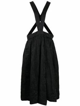 Comme Des Garcons Comme Des Garcons жаккардовая юбка макси RGA004