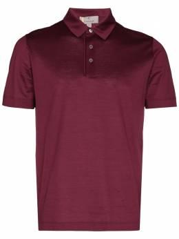 Canali рубашка поло с короткими рукавами T0642MJ00002