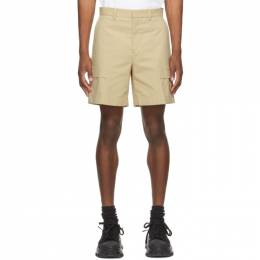 Wooyoungmi Beige Patch Pocket Cargo Shorts PT32