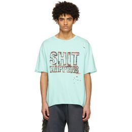 Alchemist Blue Pacifica T-Shirt ALDRSS21MJSST04B