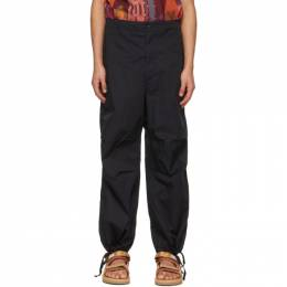 Engineered Garments Black Twill Over Trousers 21S1F022