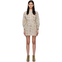 Isabel Marant Etoile Off-White Anaco Dress 21PRO1865-21P031E