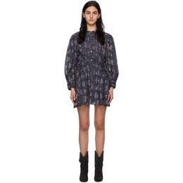 Isabel Marant Etoile Purple Anaco Dress 21PRO1865-21P031E