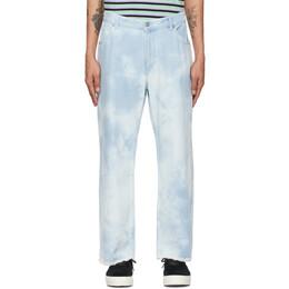 Faith Connexion Blue Tie and Dye Jeans EXS21605