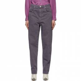 Isabel Marant Etoile Purple Corfy Jeans 21PPA1844-21P065E
