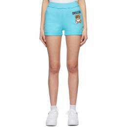 Moschino Blue Inside Out Teddy Bear Shorts A0319 0427
