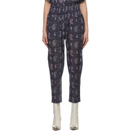 Isabel Marant Etoile Purple Alikley Lounge Pants 21PPA1828-21P031E