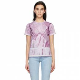 Moschino Pink Inside Out Trompe-loeil T-Shirt J0712 0440