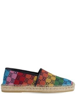 Gg Multicolor Canvas Espadrilles Gucci 74IXKF019-NDY4MA2