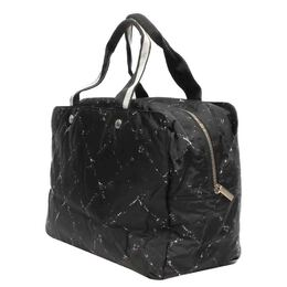 Chanel Black Nylon Travel Line Tote Bag 413147