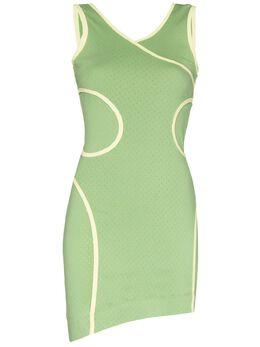 Eckhaus Latta платье мини Surface без рукавов 1005ELSS21PI
