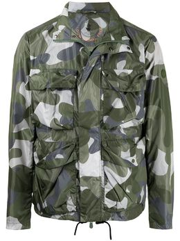 Save The Duck куртка Freddie с камуфляжным принтом PD30055MTERAZ