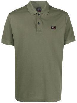 Paul & Shark рубашка поло с нашивкой-логотипом C0P1070