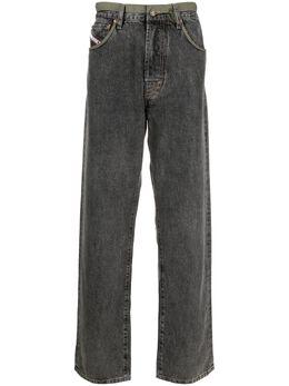 Diesel прямые джинсы средней посадки A023590CBBH