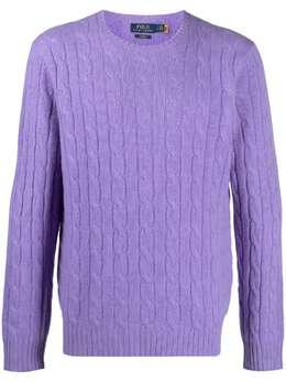 Polo Ralph Lauren кашемировый джемпер фактурной вязки 710775749