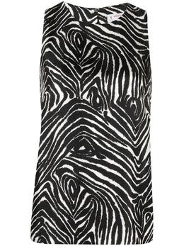 Alberto Biani блузка с зебровым принтом MM826SE3129