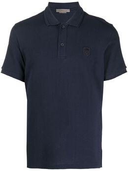 Corneliani рубашка поло с вышитым логотипом 87G5701125045001