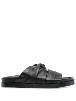 3.1 Phillip Lim шлепанцы Twisted Pool SSS1T752NSL