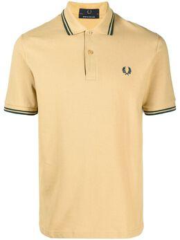 Fred Perry рубашка поло с вышитым логотипом M12PIQUETC21