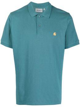 Carhartt Wip рубашка поло с вышитым логотипом I023807