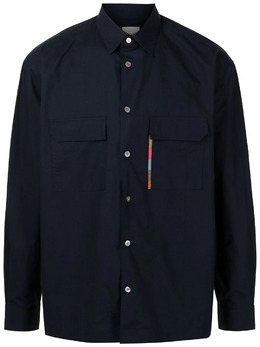 Paul Smith рубашка в полоску с длинными рукавами M1R705UEF01218