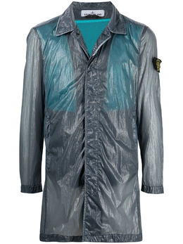 Stone Island полупрозрачная куртка 741570534