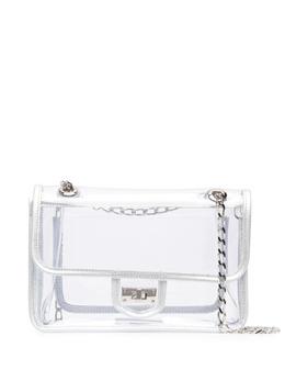 Junya Watanabe прозрачная сумка с поворотной застежкой JGK202051
