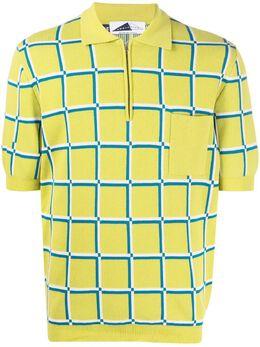 Anglozine клетчатая рубашка поло с короткими рукавами AZ2018877
