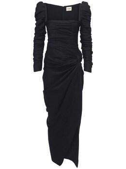 Платье Из Атласного Крепа Khaite 73IDLK013-MjAw0