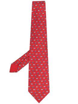 Hermes галстук pre-owned с принтом U212353